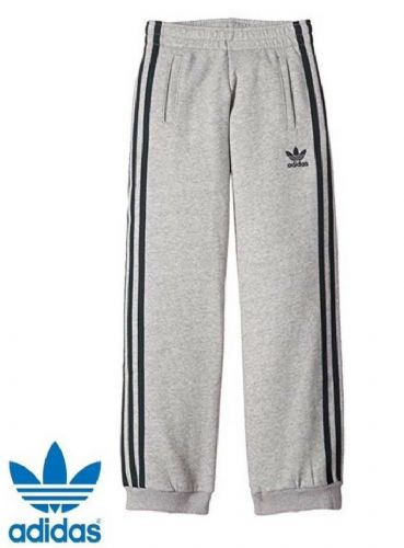 adidas originals Boys Pants joggers grey age 4-15 BNWT free delivery S14458